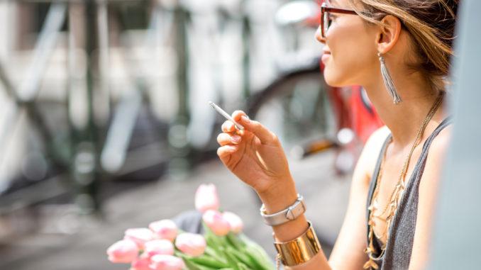Cannabis-Rauchen mit hohem CBD-Gehalt der neue Trend