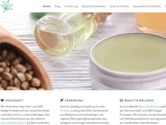 hanf-wellness.de informiert über hanfprodukte